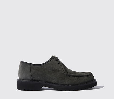 Merry Anthracite Suede