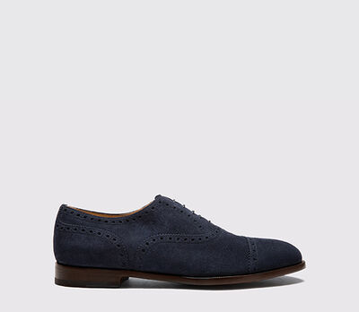 Harrison Blue Suede Light
