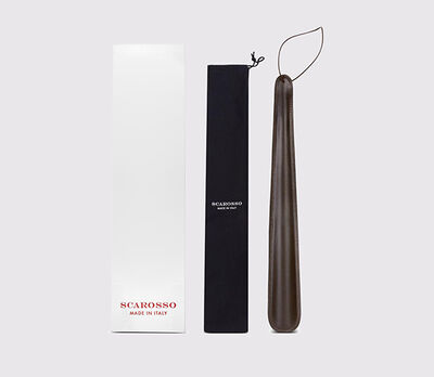 Scarosso Leather shoe horn marrone