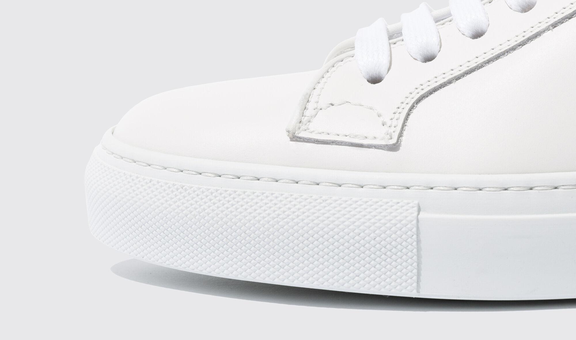 Herren Sneakers Handgefertigte Schuhe   Scarosso Ugo Bianco