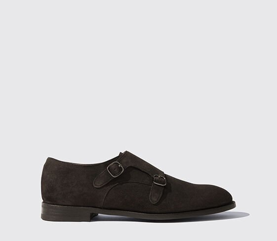 Scarosso Newton Ebony Suede Light
