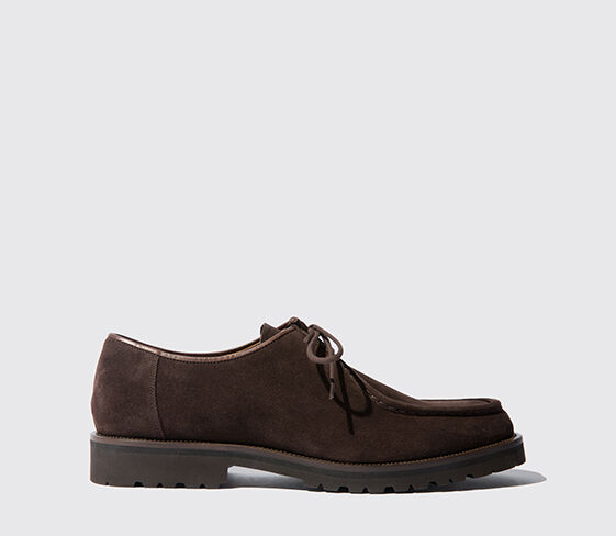Parker Brown Suede