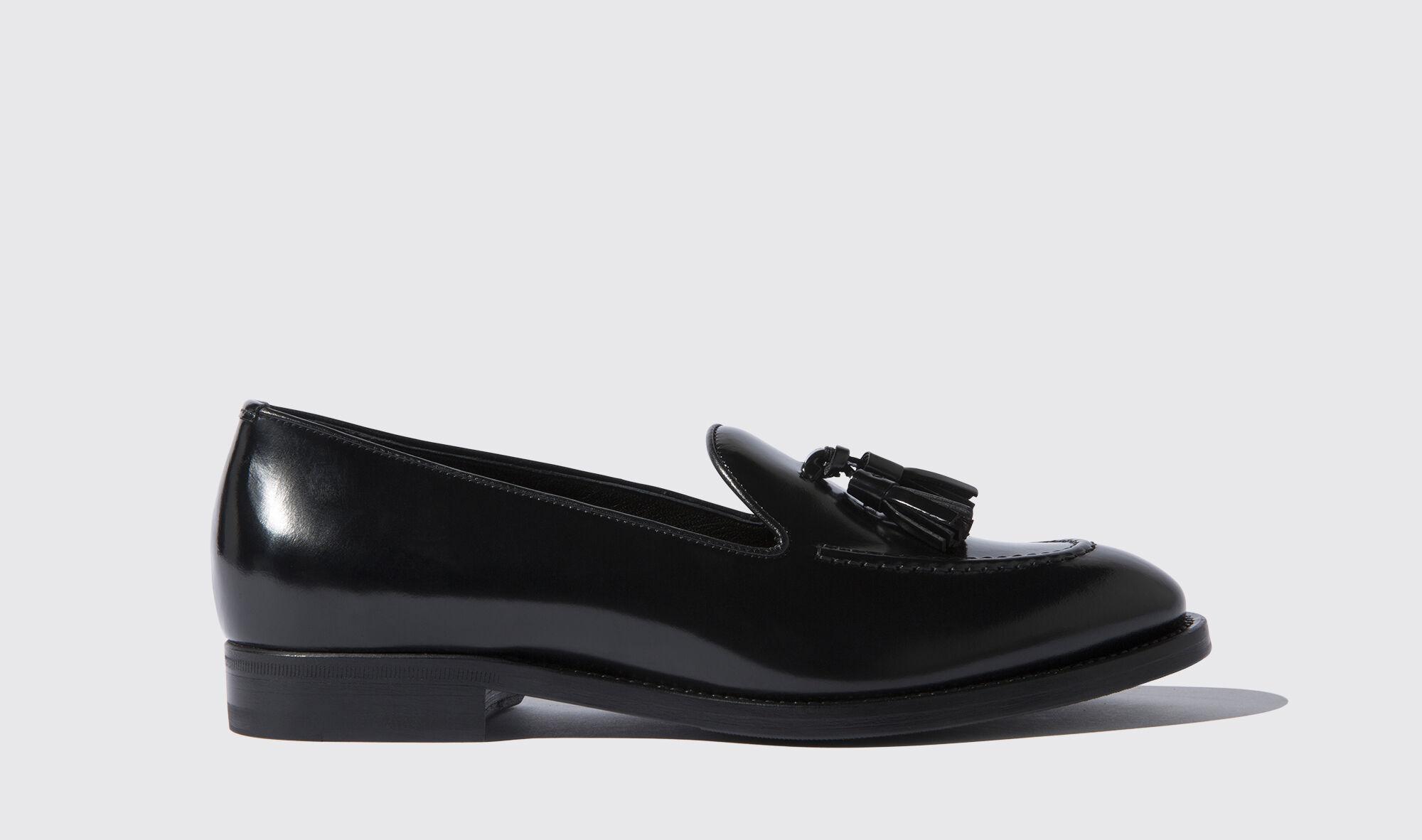 Schwarze Loafers für Damen Sienna | Scarosso