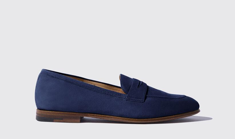 4d8ad129ca7 Valeria Blu Scamosciata. Loafers