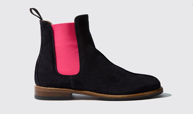 hot sales f4530 25e3a Women's Blue Chelsea Boots - Bruna | Scarosso