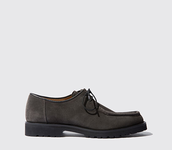 Scarosso Parker Anthracite Suede