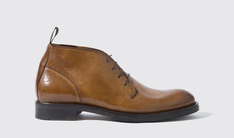 promo code dd175 d63b7 Braune Stiefel für Herren - Kurt | Scarosso