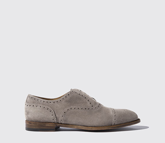 Harrison Grey Suede Light