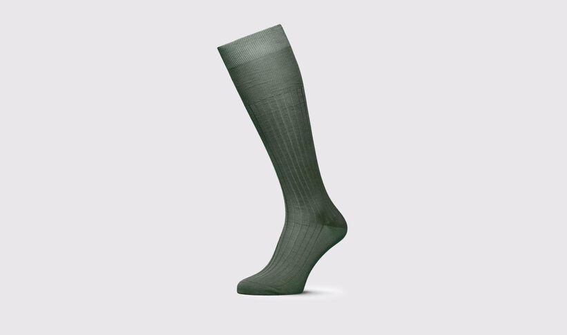 heiß-verkaufendes echtes der Verkauf von Schuhen heiße neue Produkte Grüne Socken für Herren - Orso   Scarosso