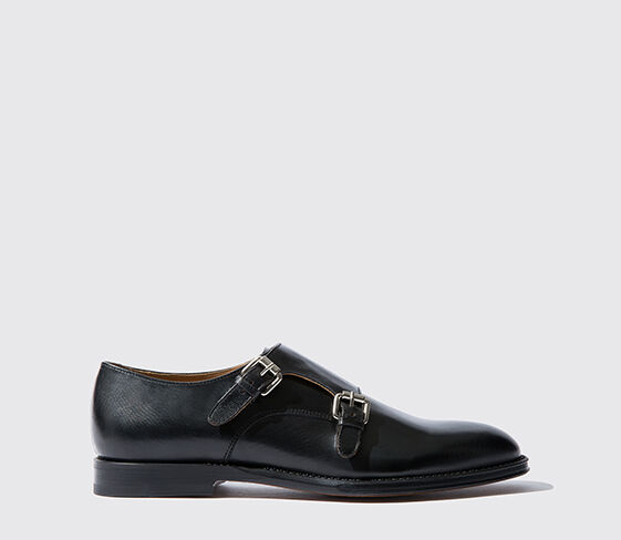 Scarosso Newton Embossed Black