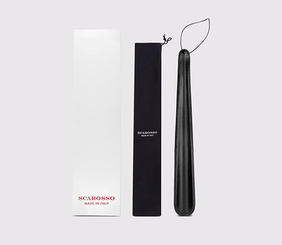 Scarosso Leather shoe horn nero