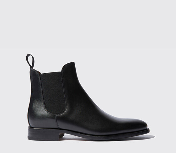 ItaliennesScarosso Chaussures Bottines Homme Chelsea Pour E2IDYH9eWb