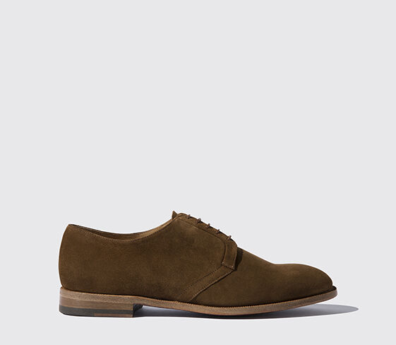 Scarosso Nash Cigar Suede Light