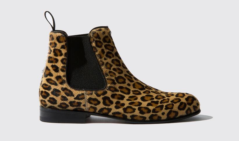 newest f2f6f bdb5a Chelsea Boots für Damen mit Leopardenprint - Lexi | Scarosso