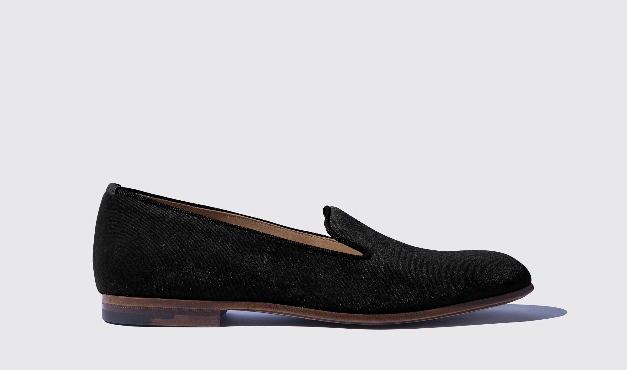 Scarosso Loafers Valentina Rosé Velluto Fashionable Cheap Price The Cheapest Cheap Online Explore Online 2018 S4hoT