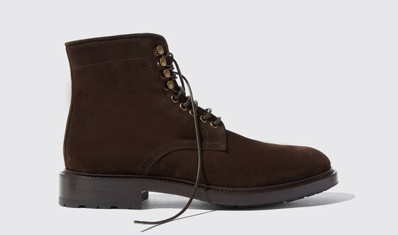 Scarosso William II Brown Suede
