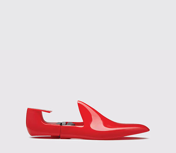 Scarosso Shoe Tree red
