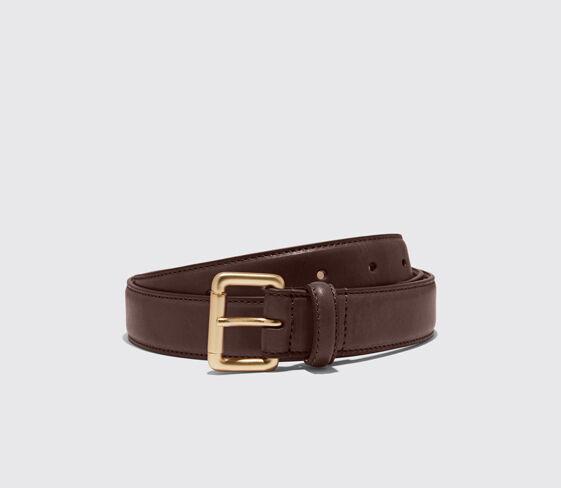 Scarosso Cintura Marrone Classica