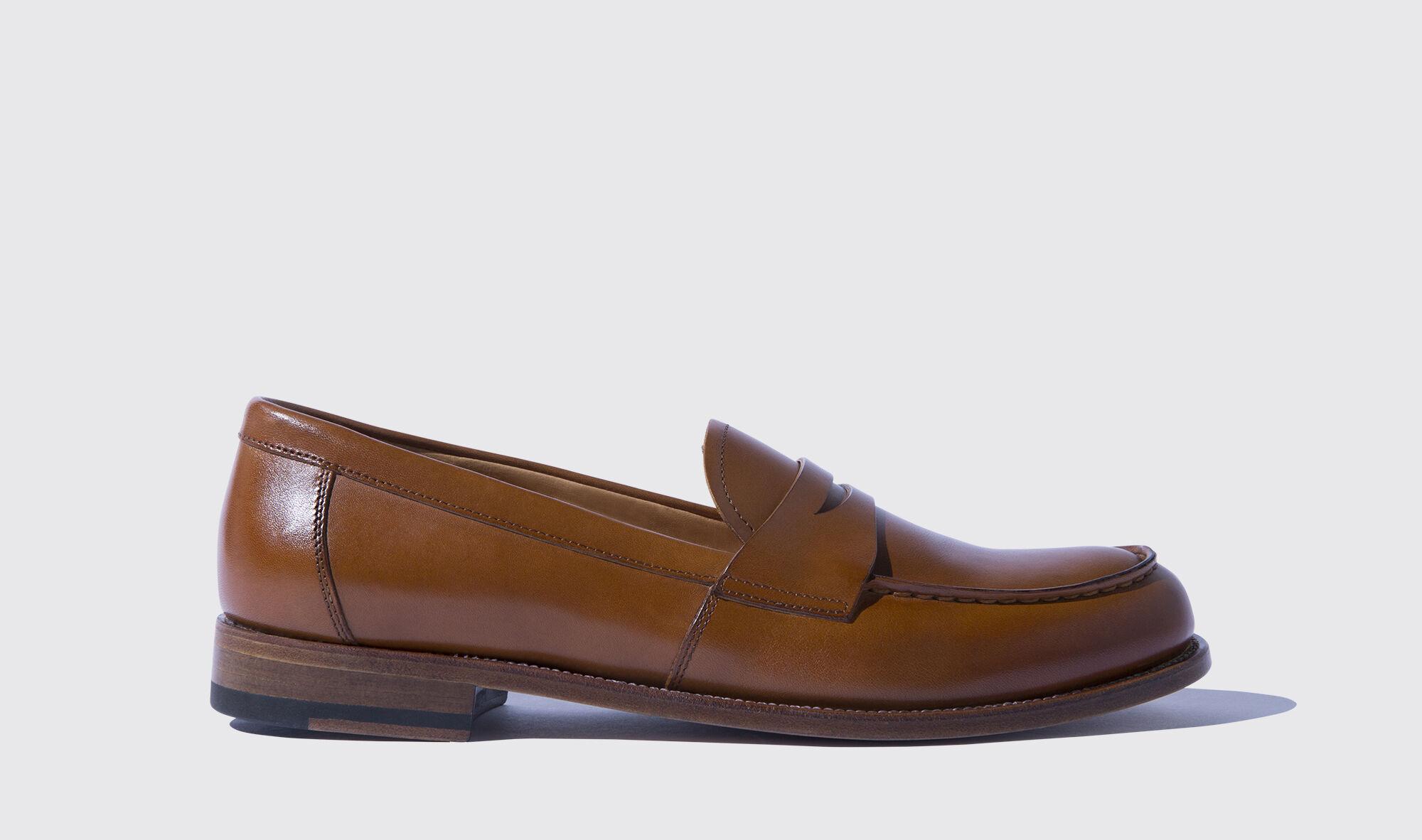 Braune Loafers für Damen Harper | Scarosso