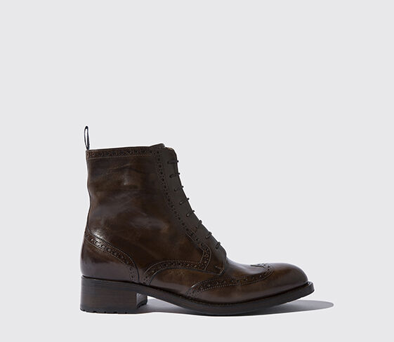 Nice Mid Boots Laura Black Leather Made In Italy T 37 Be Clothing, Shoes & Accessories