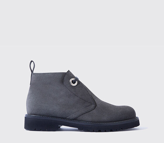 Scarosso Willow Anthracite Suede