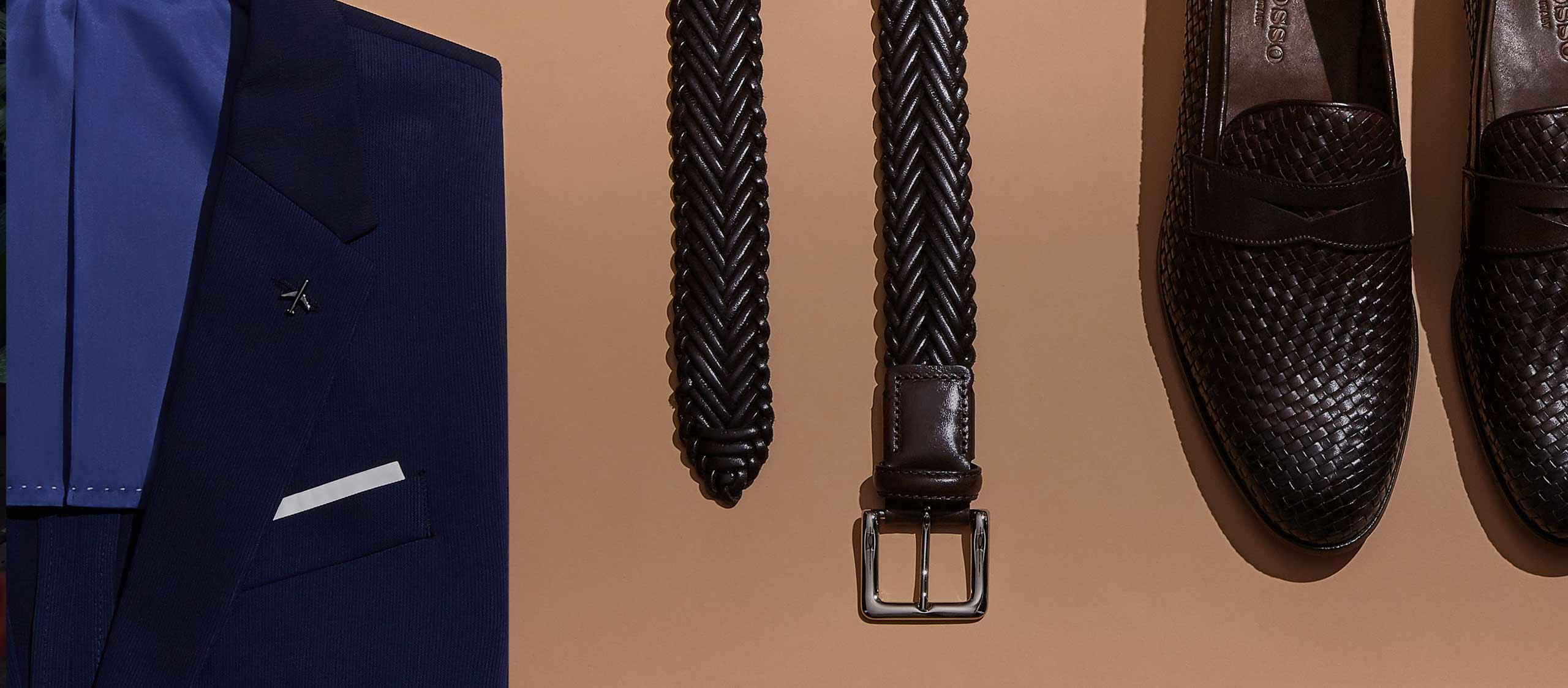 Belts matching Shoes