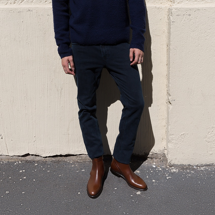 Jodhpur Men's Brown P8iqtwy Boots Dark Taylor Scarosso 4f0x1n